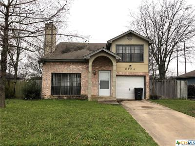 Killeen Single Family Home For Sale: 2704 Taft