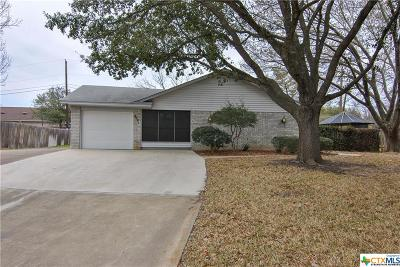 Temple Single Family Home For Sale: 4001 Fox Trail