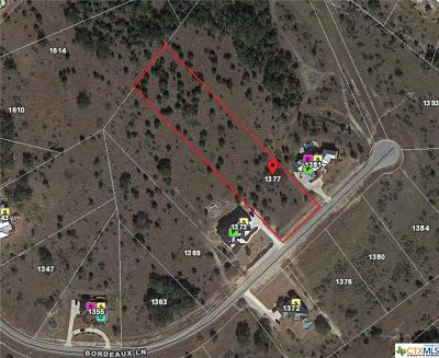 New Braunfels Residential Lots & Land For Sale: 1377 Bordeaux