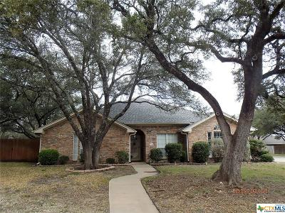 Killeen TX Single Family Home For Sale: $174,900