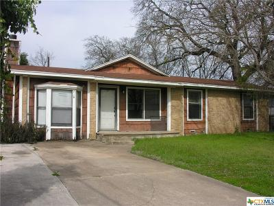Copperas Cove Single Family Home For Sale: 218 Meggs Street