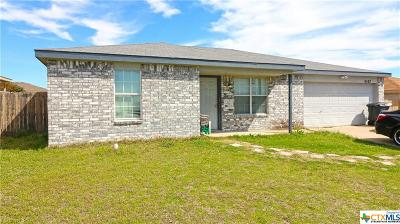 Killeen Single Family Home For Sale: 4107 Janelle Court