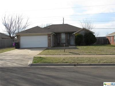 Killeen Single Family Home For Sale: 4605 Hitchrock Drive