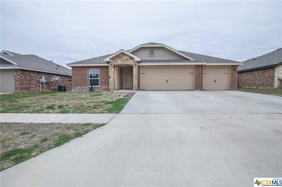 Killeen Single Family Home For Sale: 2607 Tara Drive