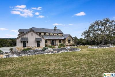 New Braunfels Single Family Home For Sale: 327 Valley Lodge Lodge