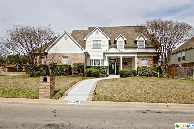 Temple Single Family Home For Sale: 2516 Pin Oak Drive