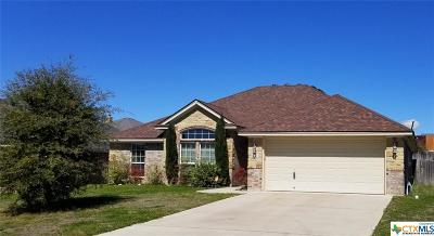 Harker Heights Single Family Home For Sale: 1130 Chaucer