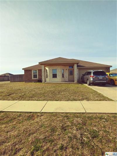 Killeen Single Family Home For Sale: 2702 Alamocitos Creek
