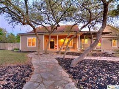 Wimberley Single Family Home For Sale: 700 Saddleridge