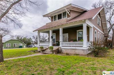 Belton Single Family Home For Sale: 618 N Wall Street