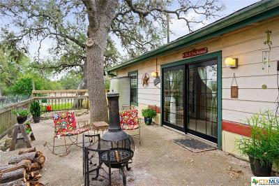 Spring Branch Single Family Home For Sale: 11901 Rebecca Creek Road