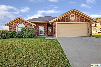 Copperas Cove Single Family Home For Sale: 2405 Spirit Dancer Drive