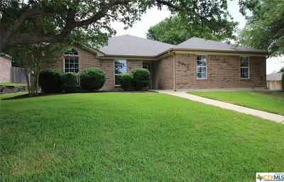 Killeen Single Family Home For Sale: 4912 Fossil Lane