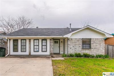 Killeen Single Family Home For Sale: 4002 Becky