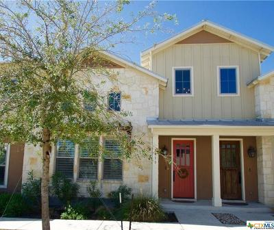 New Braunfels Condo/Townhouse For Sale: 619 Stadtbach