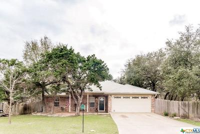 Belton Single Family Home For Sale: 103 Cottonwood Loop
