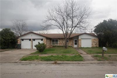 Killeen Single Family Home For Sale: 1201 Metropolitan Drive