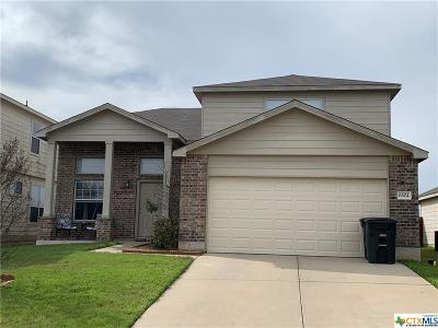 Killeen Single Family Home For Sale: 6604 Griffith
