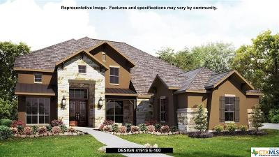 New Braunfels Single Family Home For Sale: 1119 Diretto Drive