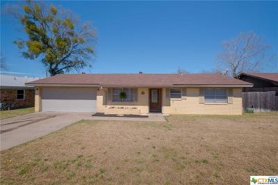 Copperas Cove Single Family Home For Sale: 1101 Pack Avenue