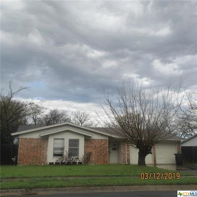 Killeen Single Family Home For Sale: 1405 Searcy Drive