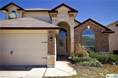 Killeen Single Family Home For Sale: 6604 Katy Creek Lane