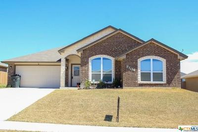 Killeen Single Family Home For Sale: 7704 Blue Nile