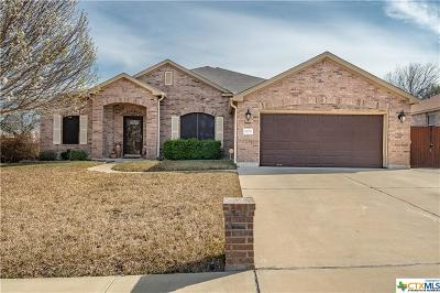 Killeen Single Family Home For Sale: 6108 Mosaic