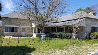 Killeen Single Family Home For Sale: 20655 State Highway 195