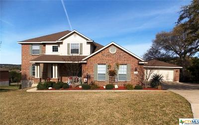 Harker Heights Single Family Home For Sale: 2006 River Rock Trail