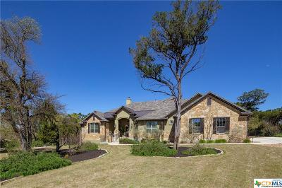 New Braunfels Single Family Home For Sale: 1610 Angolo