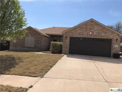Killeen Single Family Home For Sale: 6106 Mosaic Trail