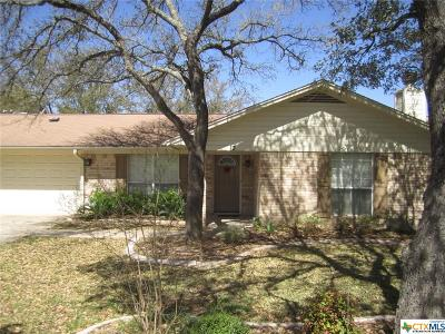 Belton Single Family Home For Sale: 3 E Shawnee Lane