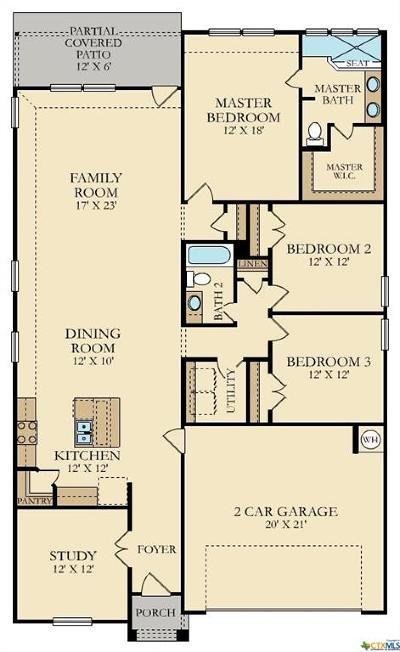 New Braunfels Single Family Home For Sale: 5858 Hopper Court