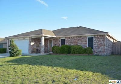 Killeen TX Single Family Home For Sale: $127,000