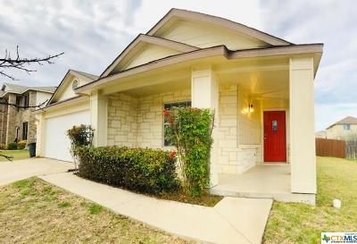 Killeen TX Single Family Home For Sale: $159,700
