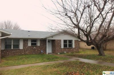 Killeen Single Family Home For Sale: 1904 Kirk