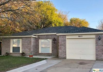 Temple Single Family Home For Sale: 8615 Hogan Road
