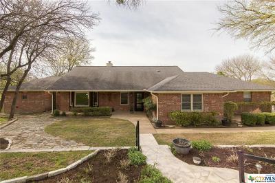 Salado Single Family Home For Sale: 2721 Chisholm Trail
