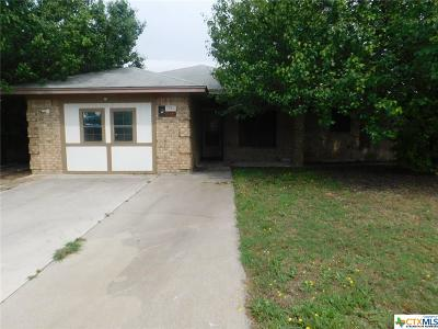 Killeen Single Family Home For Sale: 2708 Wildflower