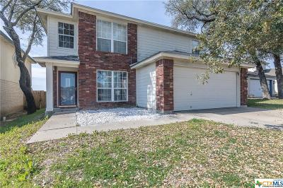 Killeen TX Single Family Home For Sale: $143,900