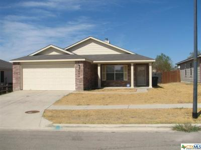 Killeen TX Single Family Home For Sale: $137,000