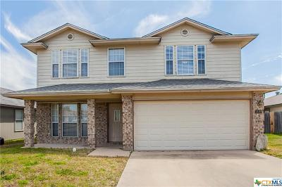 Killeen Single Family Home For Sale: 1408 Fox Creek