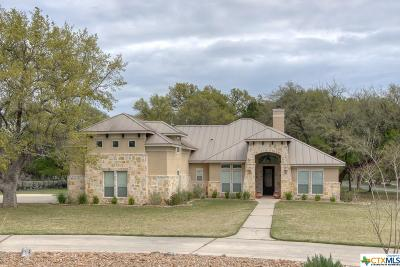 New Braunfels Single Family Home For Sale: 26902 Park Loop Road