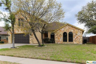Killeen Single Family Home For Sale: 7207 Andalucia