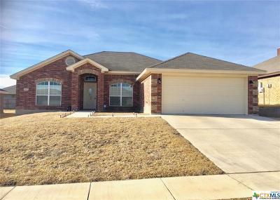 Killeen TX Single Family Home For Sale: $153,500