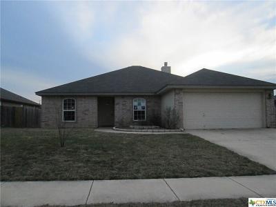 Killeen TX Single Family Home For Sale: $115,800
