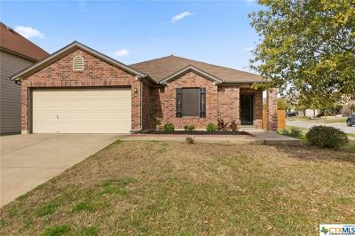 Temple, Belton Single Family Home For Sale: 302 Harvest Meadow