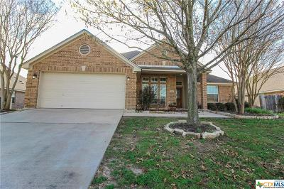 Temple Single Family Home For Sale: 1605 Rusty Nail Drive