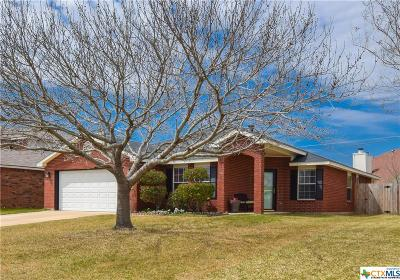 Harker Heights Single Family Home For Sale: 3031 Rain Dance Loop